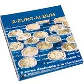 Møntalbum med fortryk 2-euro, bind 1