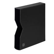 Etui de protection pour Reliure á anneaux OPTIMA, design classique, noir