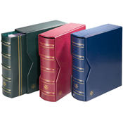 OPTIMA classic set GIGANT ring binder and slipcase  - Red - Lighthouse