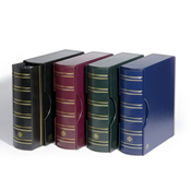 GRANDE classic ring binder GIGANT Incl. slipcase -  Blue - Lighthouse