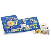 Album Numismatique PRESSO, Euro-Collection pour pièces de monnaie 2 Euros