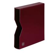 cajetín projoector por tapa de anillas OPTIMA, diseño classic, rojo