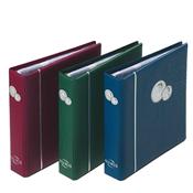 Album Numismatique NUMIS, plus 5 Pochettes incluses, rouge