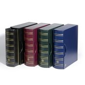 GRANDE classic ring binder GIGANT Incl. Slipcase -Red - Lighthouse