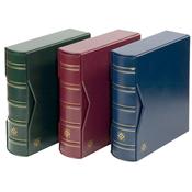 经典集邮册-首日封-红色-带有外保护盒