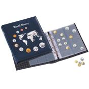 Album voor munten van over de gehele wereld