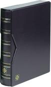 Reliure à anneaux VARIO, design classique avec étui de protection, bleu