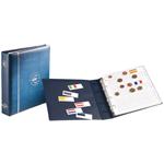 Album Numismatique pour Euros, format NUMIS, bleu