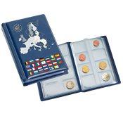 Album tascabile per serie di monete Euro