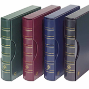GRANDE classic ring binder incl. slipcase - Black - Lighthouse
