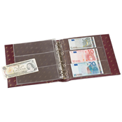 NUMIS banknote albums - Red - Lighthouse / Leuchtturm
