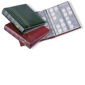 OPTIMA-Classic muntenalbum met cassette - rood