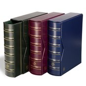 VARIO classic ring binder GIGANT incl. slipcase - Blue - Lighthouse