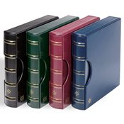 LIGHTHOUSE Ringbinder EXCELLENT DE, in classic design with slipcase, blue