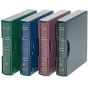 Turn-bar Binder PERFECT DP, in classic design with  slipcase, green
