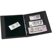 Album pour billets de banque VARIO, 10 Pochettes incluses, noir