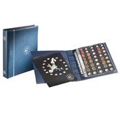 Album Numismatique pour Euros, format OPTIMA, bleu