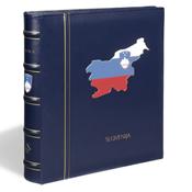 CLASSIC Perfektbind med *Slovenien* påtrykt inkl. kassette - Blå