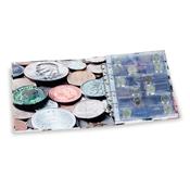 OPTIMA *COINS* album - Incl. 5 sheets - Lighthouse  / Leuchtturm