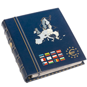 VISTA album numismatique euros volume 2 *Die neuen  Länder*, avec étui de pr