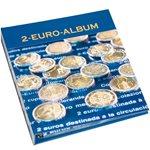 Album numismatique NUMIS pourpièces commémoratives  de 2 euros, Tome 3