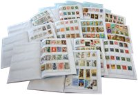 Worldwide - 50000 different stamps - Approval booklets