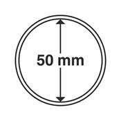 Leuchtturm møntkapsler - Indre Ø: 50 mm - Ydre Ø: 56 mm - 10 stk