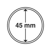 Leuchtturm møntkapsler - Indre Ø: 45 mm - Ydre Ø: 51 mm - 10 stk