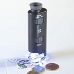 Microscope avec Zoom et LED, 60 fois et 100 Fois de Leuchtturm