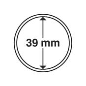 coin capsules inner diameter 39 mm