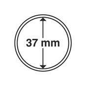 Kolikkokapseleita - Sisähalkaisija 37mm - Ulkohalkaisija 42mm - 10 Kpl