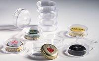Capsules for Champagne bottle tops or bottle caps,  inner diameter 31 mm