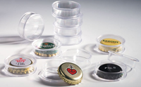 Capsules for Champagne bottle tops or bottle caps,  inner diameter 31 mm