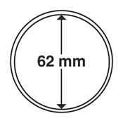 Leuchtturm møntkapsler - Indre Ø: 62 mm - Ydre Ø: 67 mm - 10 stk.
