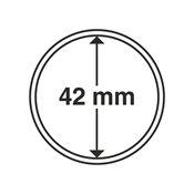 capsules pour pièces de monnaie diamètre intérieur  42 mm
