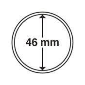 capsules pour pièces de monnaie diamètre intérieur  46 mm