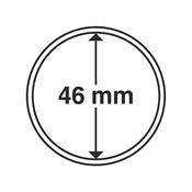 Leuchtturm møntkapsler - Indre Ø: 46 mm - Ydre Ø: 52 mm - 10 stk.