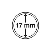 coin capsules inner diameter 17 mm