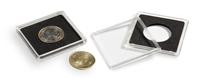 capsules QUADRUM pour pièces de monnaie de diamètre intérieur 20 mm