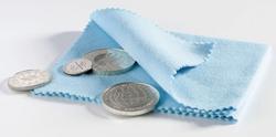 coin Poblishing Cloth, blue