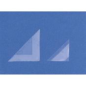 Self-Adhesive Corner Mounts size: 32x32 mm