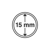 cápsulas de monedas diámetro interior 15 mm