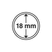 coin capsules inner diameter 18 mm