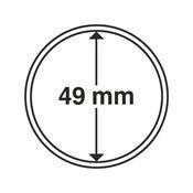 capsules pour pièces de monnaie diamètre intérieur  49 mm
