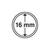 capsules pour pièces de monnaie diamètre intérieur  16 mm