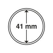 Leuchtturm møntkapsler - Indre Ø: 41 mm - Ydre Ø: 47 mm - 10 stk.