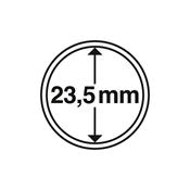 Møntkapsel - 23,5mm/30mm - pakke med 10 stk.