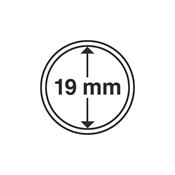 Kolikkokapseleita - Sisähalkaisija 19mm - Ulkohalkaisija 25mm - 10 Kpl