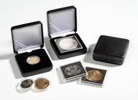 Ecrin Numismatique NOBILE pour pièces jusqu'à Ø 40  mm, noir