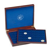 Coffret Numismatique VOLTERRA DUO de luxe, avec chacun 30 pcs de 10¤ en cap